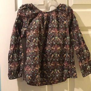 Size 6-7 Peek brand (boutique style) girls shirt